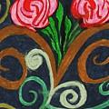 Fancy Flowers by Elinor Helen Rakowski