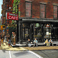 Fanelli Cafe by Ted Papoulas