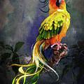 Fantasy Bird by Angel Glen