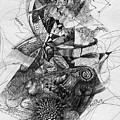 Fantasy Drawing 2 by Svetlana Novikova