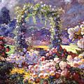 Fantasy Garden Delights by David Lloyd Glover