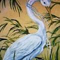 Fantasy Heron by Patricia R Moore