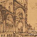 Fantasy On A Magnificent Triumphal Artch by Giovanni Battista Piranesi