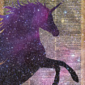 Fantasy Unicorn in the Space by Anna W