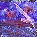 Fantasy With African Violets And Peace Lily 46 by Lynda Lehmann