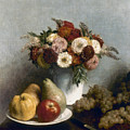 Fantin-latour: Fruits, 1865 by Granger
