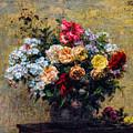 Fantin-latour's Summer Flowers         by S Paul Sahm