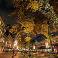 Fanueil Hall Boston Ma Autumn Foliage by Toby McGuire