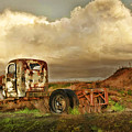 Far Rusted Truck by Blake Richards