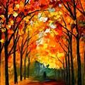 Farewell To Autumn by Leonid Afremov
