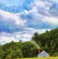 Farm - Barn - Home On The Range II  by Mike Savad
