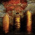Farm - Bottles - Ceramic Bottles by Mike Savad