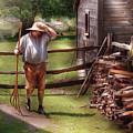 Farm - Farmer - Chores by Mike Savad