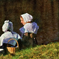 Farm - Farmer - The Young Maidens by Mike Savad