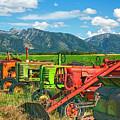 Farm  Art Tractors by Daryl L Hunter