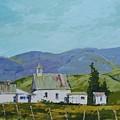 Farm Buildings by Richard Szkutnik