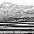Farm Fields Meet The Rocky Mountains by James BO  Insogna