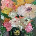 Farm Flowers by Mindy Carpenter