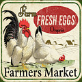 Farm Fresh Eggs-b by Jean Plout