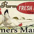 Farm Fresh Eggs-c by Jean Plout