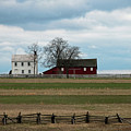 Farm House And Barn by David Arment