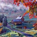 Farm In The Dell by David Lloyd Glover