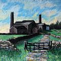 Farm Near Hexham. by John Cox