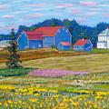 Farm On Prince Edward Island by Rae  Smith
