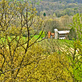 Farm Seen From Culp Hill Lookout In Gettysburg National Military Park-pennsylvania by Ruth Hager