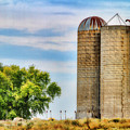 Farm - Silo - Concrete Stave Silos by Barry Jones