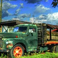 Farm Stand Truck by Terry McCarrick