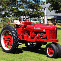 Farmall At The Country Fair by Andrew Pacheco