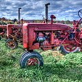 Farmall Graveyard by Rod Cuellar