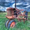 Farmall Red by Rod Cuellar