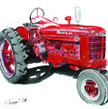 Farmall Tractor by Ferrel Cordle