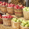 Farmer's Market Apples by Wayne Potrafka