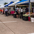 Farmers Market Before The Crowd by JG Thompson