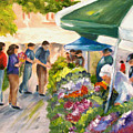 Farmer's Market by Carol Sweetwood