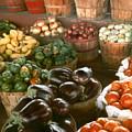 Farmers Market by Myrna Salaun