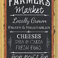 Farmer's Market Signs by Debbie DeWitt