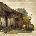 Farmhouse by Hendrik Jan August Leys