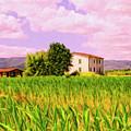 Farmhouse In Tuscany by Dominic Piperata