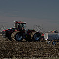 Farming April In The Field On The Case 500 Pa by Thomas Woolworth