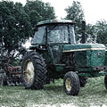 Farming John Deere 4430 Pa 01 by Thomas Woolworth