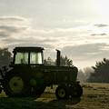 Farming John Deere 4430 by Thomas Woolworth