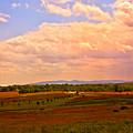 Farmland In Gettysburg by Madeline Ellis