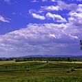 Farmland In Gettysburg Version II by Madeline Ellis