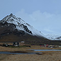 Farms At The Base Of Mt Stapafell In Iceland by DejaVu Designs