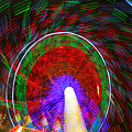 Farris Wheel Crazy Light Abstract by James BO Insogna