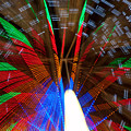 Farris Wheel Light Abstract by James BO Insogna